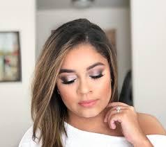 fall bridal makeup look