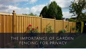 importance of garden fencing