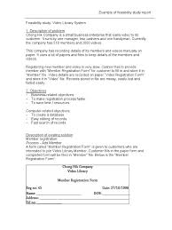 Sample Feasibility Report Information Technology Professional Resume Template Classification 8