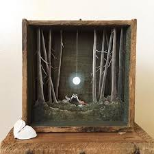 shadow box art in 650 best images on altered decorations 12