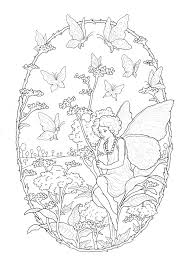 I made the coloring page of fairies to share with you! Fairy Free To Color For Children Fairy Kids Coloring Pages