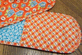 Oven Mitt Pattern New How To Make Double Oven Mitts WeAllSew