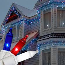 fantastic deck lighting ideas decorating ideas. 150 Red, White And Blue Icicle Lights - Wire Fantastic Deck Lighting Ideas Decorating A