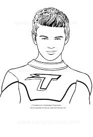 Disegno Di Max Thunderman Da Colorare