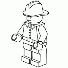 Lego Politie Kleurplaat Lego Robin Kleurplaat Tropicalweather