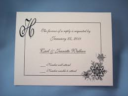 How To Reply To Wedding Rsvp Card Invitation Reply Card Response Wording Examples How To Write
