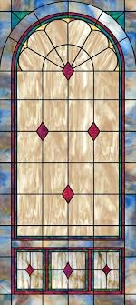 stained glass decorative stained glass church window diamonds stained glass window for front