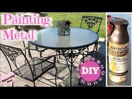 how to paint metal with rust oleum