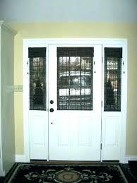 french door window blinds front door with window front door window blinds door window blind entry