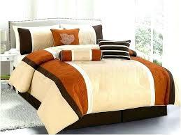 orange and brown comforter sets burnt orange and brown comforter sets burnt orange comforter set burnt