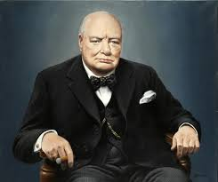 whole oil painting good quality art world war ii british prime minister winston churchill