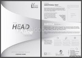 White Flyer Template With Bent Strip In Foreground Over White