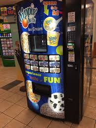 Vending Machines Ice Cream Enchanting Dippin Dots Ice Cream Vending Machine Yelp
