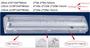 2x18w ip65 led batten for double led t8 4ft vapor tight class