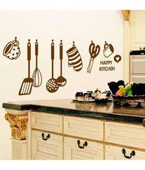 stickerskart wall stickers wall decals stylish kitchen art 6017 60x45 cms