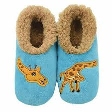 Snoozies Size Chart Snoozies Womens Classic Splitz Applique Slipper Socks