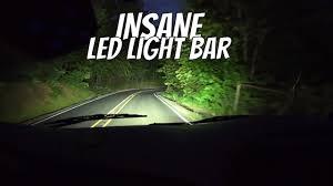 Anubis Tactical Light Bar Insane Led Light Bar Review And Installation