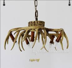 cheap chandelier lighting. Buy 5 Cast Deer Antler Chandelier Inverted Hanging Ceiling Candelabra Lights Rustic Lighting Fixtures Cheap F