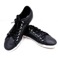 Puma Black Leather Benecio Sneakers 9 5