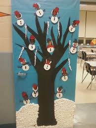 christmas office door decorating ideas. 3D Christmas Office Door Decoration Decorating Ideas I