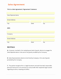 Sales Agent Contract Sales Representative Agreement Uk Non Exclusive Legal Forms And 20