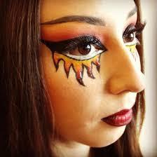 scary diy makeup 2016