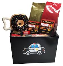 police officer gift basket