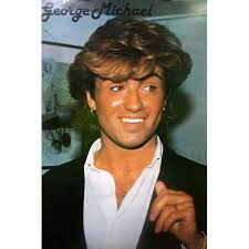 george michael 1980s.  1980s George Michael Printed In 1980s So Not Pristine Condition Intended