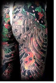 Japonské Tetování Irezumi Tetování Tattoo Kérkycz