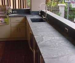 Appealing Soapstone Kitchen Countertops  New Countertop Trends - Outdoor kitchen countertop ideas