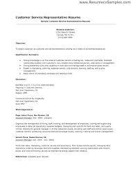 Job Duties Resume Description For Position Of Sample Customer