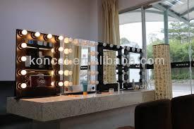 professional lighting makeup mirror lighted makeup mirror with stand makeup mirror with aluminum frame