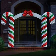 Big Candy Cane Decorations Big Candy Cane Decorations 60 Hammacher Schlemmer Chair 10