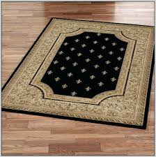 fleur de lis area rug rugs bed bath and beyond signs round