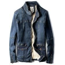 old coats biker jackets and spring denim retro fashion vintage jeans jacket on at burlington