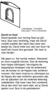 David Bij Koning Saul 3 Gkv Apeldoorn Zuid