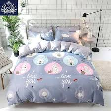 cat duvet covers lucky cat duvet cover queen size cartoon style bedding linen for kids red