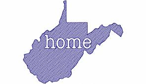 Sketch Style West Virginia Home Machine Embroidery Design - Home machine embroidery designs