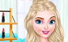 barbie doll makeup game