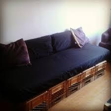 milk crates mattress pad black sheet couch diy milkcrates
