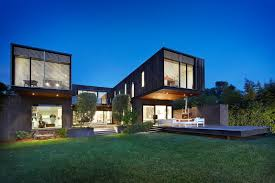 ... Amazing Modern Homes For Your Ideas : Awesome Cube House With Steel  Frame Construction And Fantastic ...