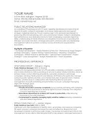 public relations sample resume ideas collection public relations resume sample for your pr