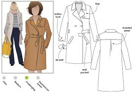 Trench Coat Pattern Enchanting Tracy Trench Coat Style Arc