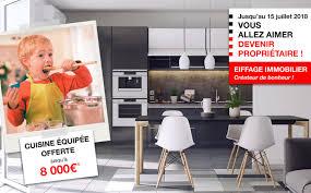 Votre Cuisine équipée Offerte Pour Votre Appartement Neuf Eiffage