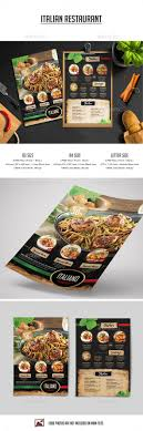 Best 25 Restaurant Brochure Ideas On Pinterest Plantilla De