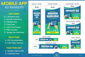 Most of these are online svg animator tools and require no. Mobile Application Animated Ad Banner Template Banner Ads Banner Template Mobile Application