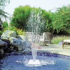 Floating Pool Fountain With Lights Poolmaster Grecian Floating Swimming Pool Fountain