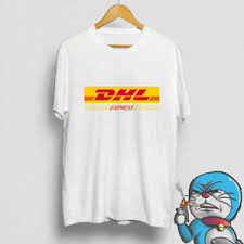 Details About Dhl Express Delivered Logo Crew Neck Mens T Shirt Usa Size S Xxl