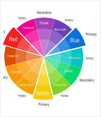 Since the lesson was about mixing colors and painting and not about drawing a. Color Wheel Charts 6 Free Pdf Documents Download Free Premium Templates