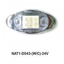 Side Marked Lamp D043 Wc Ellipse Side Marker Side Marker Lamp Led